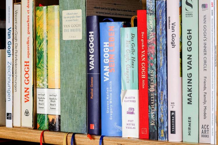 vanGogh-Bücher