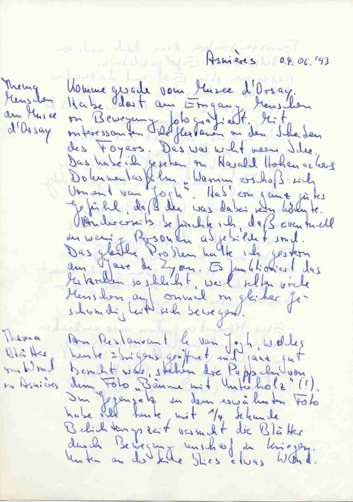 Notiz ke_013, Asnières, 04.06.1993